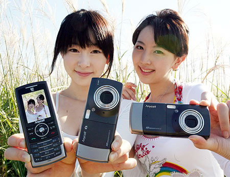 samsung SAMSUNG SCH B600 Worlds First 10 Megapixel Camera Phone