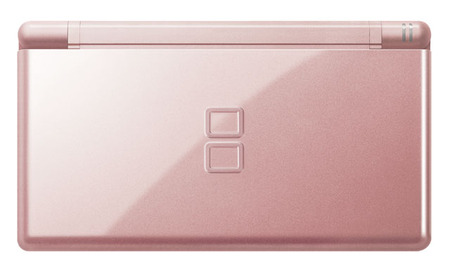 dslite03 thumb Nintendo DS Lite now in Metallic Rose and Glossy Silver color