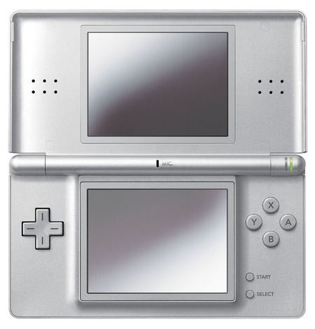 dslite07 thumb Nintendo DS Lite now in Metallic Rose and Glossy Silver color