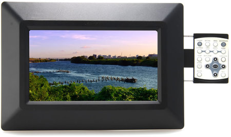 kenko digital thumb 450x268 Kenko digital photo frame with side mounted control panel