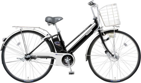 panasonic electric cycle thumb 450x266 Panasonic to launch Regenerative Electric Bicycle with Li ion Battery