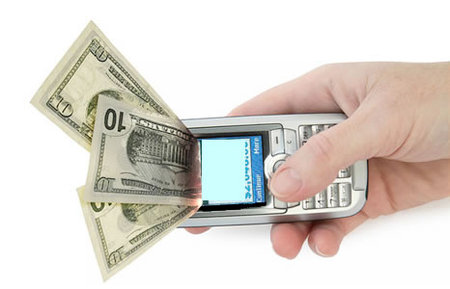 mobile payment thumb 450x289 NTT DoCoMo customers can remit up to $208 just by inputting the DoCoMo payees mobile phone number