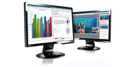 benq LED monitor BenQ G922HDL Worlds First 18.5 LED Monitor
