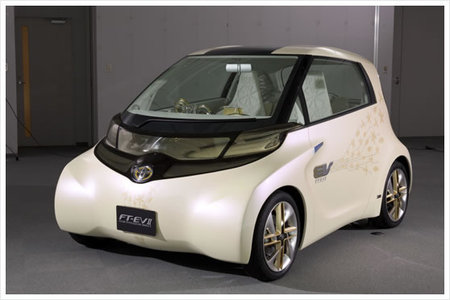 toyota concept thumb 450x300 Toyota FT EV II concept Electric Vehicle has no steering wheel or foot pedals!