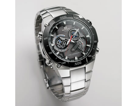 casio edifice watch Casio Edifice EQW M1100 watch features 1/1000 Second Stopwatch