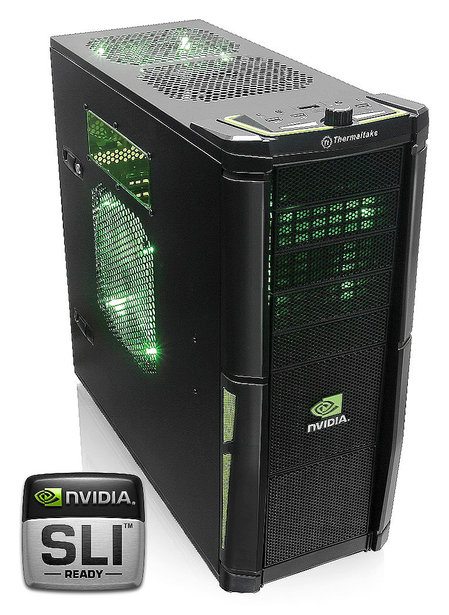 nvidia edition chassis thumb 450x615 Thermaltake Element V NVIDIA Edition chassis