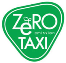 zero taxi logo First electric car taxis to hit the streets of Tokyo on Thursday