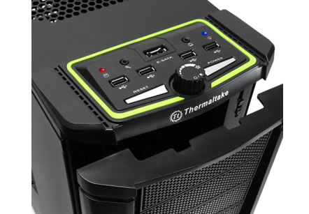 thermaltake nvidia chasis Thermaltake announces the worlds one and only NVIDIA certified chassis for next generation graphics cards