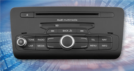 Delphi Audi Radio thumb 450x238 Delphi Provides Audi with a new and Innovative Connectivity Navigation Radio Platform