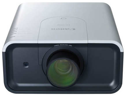 projector thumb 450x333 Canon launches 7000 Lumen Installation Projector with five optional lenses for a variety of front or rear projection applications