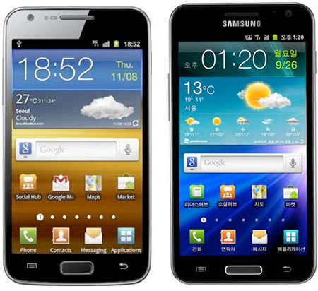 galaxy hd Samsung launches worlds first LTE smartphone with the HD Super AMOLED  GALAXY S II HD LTE
