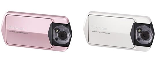 casio EX TR 150 pink Casio launches EX TR150 Freestyle Digital Camera with Rotating Monitor and Frame 