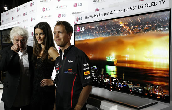 LG OLED TV slim LG unveils Worlds Largest and Slimmest OLED TV