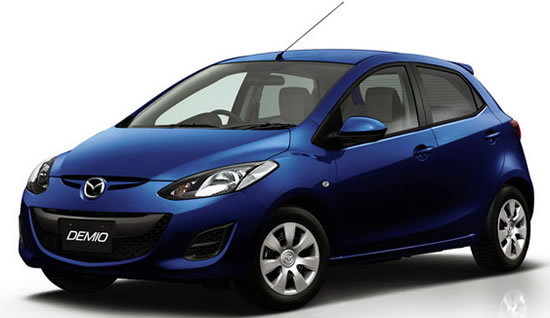 Mazda Demio  Mazda Releases Upgraded Demio with Improved Fuel Economy in Japan