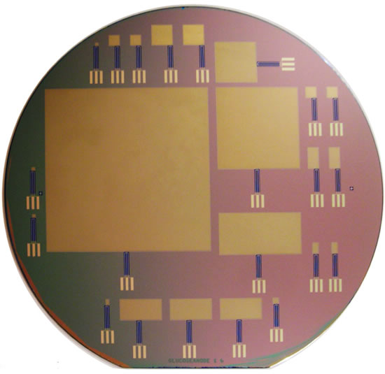 silicon wafer Implantable fuel cell built at MIT could power neural prosthetics that help patients regain control of limb