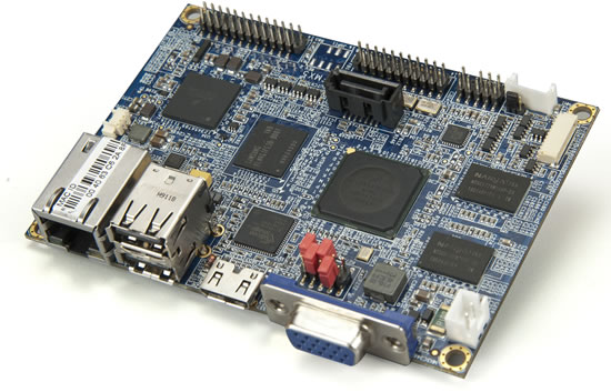 VAB 800 board VIA announces first embedded ARM based Pico ITX Board VIA VAB 800