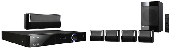 pioneer HTZ BD 32 hometheatre Pioneer HTZ BD32 3D 5.1 Surround Sound Home Theater System 