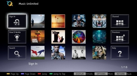 sony music unlimited 550x308 Sony announces Music Unlimited subscription service in Japan