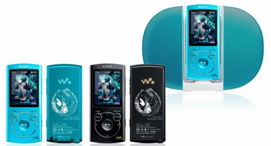 sony Hatsune Miku Walkman S Limited edition of Sony Hatsune Miku Walkman S series sells out in 6 hours