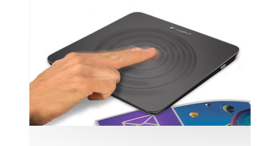 logitech touchpad Logitech announces a new lineup of products designed for easy and intuitive navigation of Windows 8