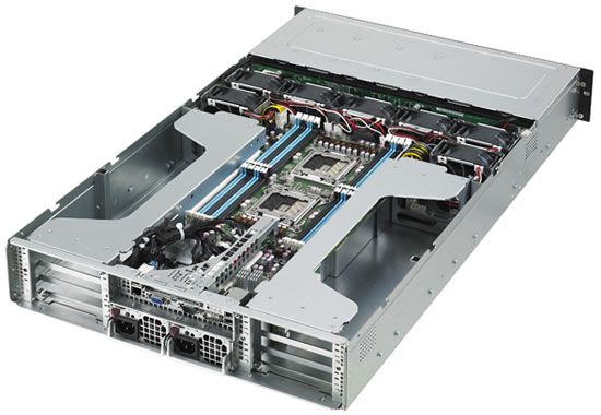 ASUS ESC4000 G2 Series Server Asus ESC4000 G2 Series   Worlds first servers with Intel Xeon Phi coprocessor and Nvidia Tesla K20/K20X GPUs announced