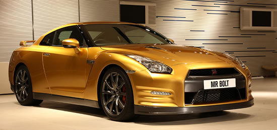 nissan GTR charity auction Nissan to produce only one Bolt Gold GT R specifically for global online charity auction on eBay