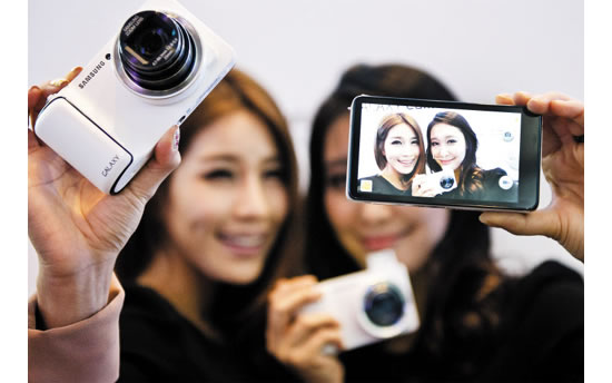 samsung galaxy Samsung launches worlds first digital camera with 4G wireless LTE connectivity 