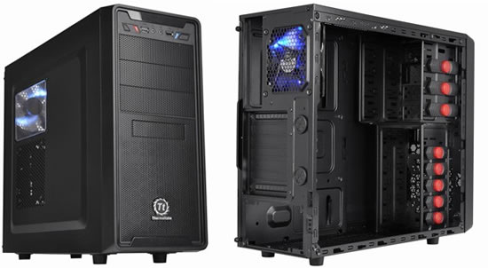 G2 Thermaltake announces new entry level mid tower case for home computer builders and gamers