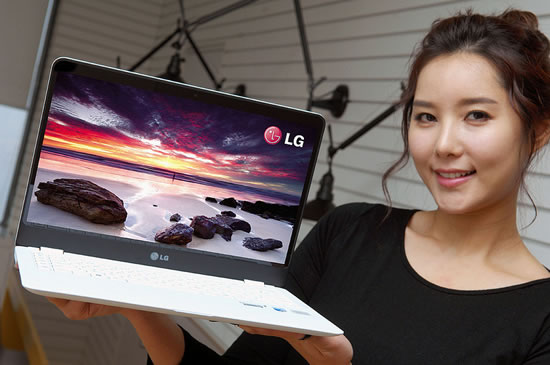 lg Z360 LG to display several innovative PCs at CES 2013