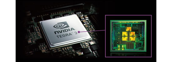 nvidia tegra Fujitsu docomo ARROWS Tab F 05E tablet customizes the screens color balance to the users age