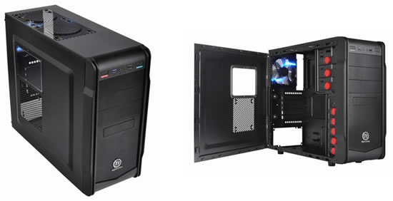 thermaltake versa G1 Thermaltake announces new entry level mid tower case for home computer builders and gamers