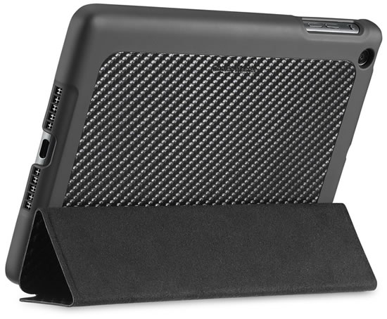 Carbon texture wake up folio ipad mini Cooler Master announces new Carbon Fiber Texture Cases / Folio for iPad Mini	 