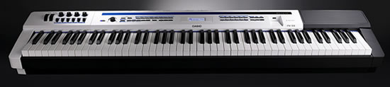 Casio Privia PRO PX 5S Casio launches Worlds First Battery Powered Stage Piano  Privia PRO PX 5S  