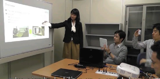 Fujitsu Fujitsu develops easy way to transfer files with video of PC screens shot by mobile devices