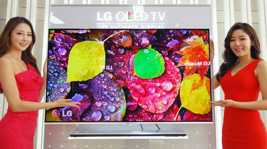 LG OLEDTV 2013 LG Ushers in New Year as worlds first to launch sale of OLED TV