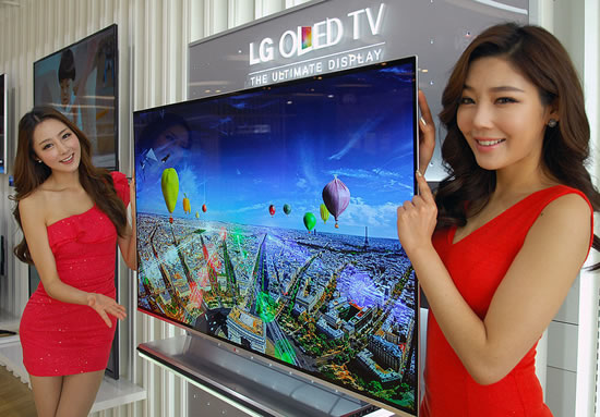 LG OLED TV LG Ushers in New Year as worlds first to launch sale of OLED TV