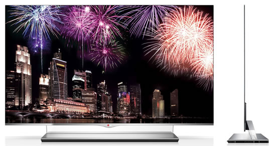 LG OLED TV ces 2013 LG Ushers in New Year as worlds first to launch sale of OLED TV