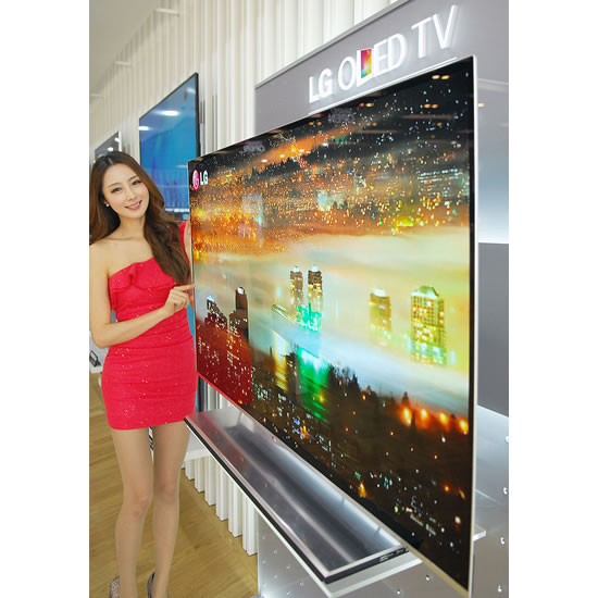 OLED TV LG LG Ushers in New Year as worlds first to launch sale of OLED TV