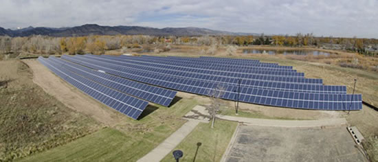 Panasonic SolarColorado Panasonic Completes 500 kW Solar Project at the University of Colorado Boulder