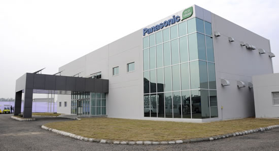 Panasonic Technopark Panasonic inaugurate its first eco ideas Factory in India  Technopark 