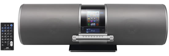 JVC RV S1 S JVC unveils new audio system RV S1 S compatible iPhone / iPod