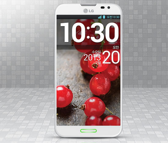 LG OPTIMUS G PRO LG Optimus G Pro full HD Smartphone allows users to capture video with both the front and rear cameras simultaneously