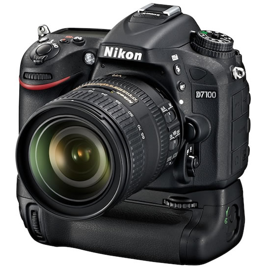 Nikon D7100 MB D15 motordrive Nikon announces high performance DX format D7100 digital SLR camera
