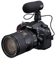 Nikon D7100 stereo Nikon announces high performance DX format D7100 digital SLR camera