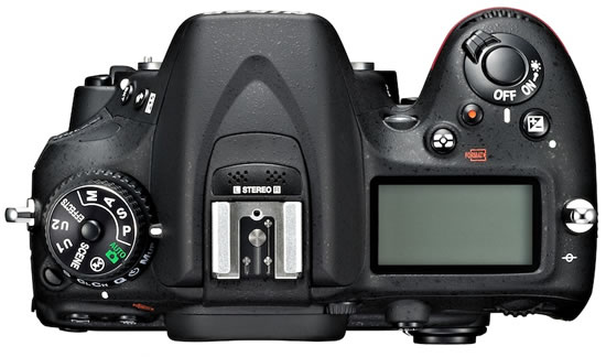 Nikon D7100 top Nikon announces high performance DX format D7100 digital SLR camera