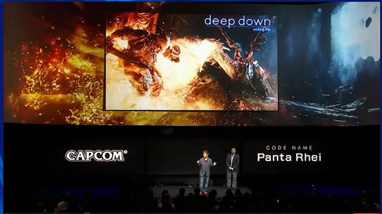 playstation4 deepdown Sony PlayStation 4 Eye incorporates two high sensitive cameras that recognize the depth of space precisely