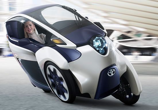 Toyota i Road Toyota i Road ultra compact tandem two seater electric vehicle to debut at 83rd Geneva International Motor Show
