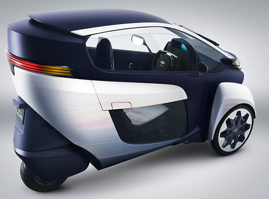 Toyota i Road concept Toyota i Road ultra compact tandem two seater electric vehicle to debut at 83rd Geneva International Motor Show