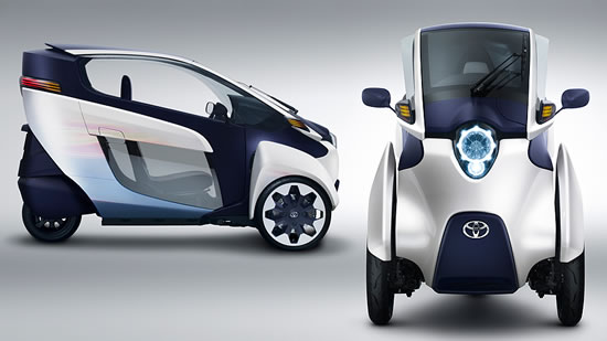 Toyota i Road concept ev Toyota i Road ultra compact tandem two seater electric vehicle to debut at 83rd Geneva International Motor Show