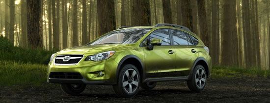subaru XV hybrid1 Subaru XV Crosstrek Hybrid unveiled at New York International Auto Show  